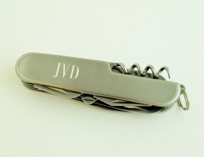 pocket-knife. 10 of the Cheapest Personalized Gifts for Men