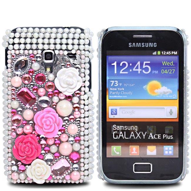 s7500flowerdiamond-1 50 Fascinating & Luxury Diamond Mobile Covers for Your Mobile