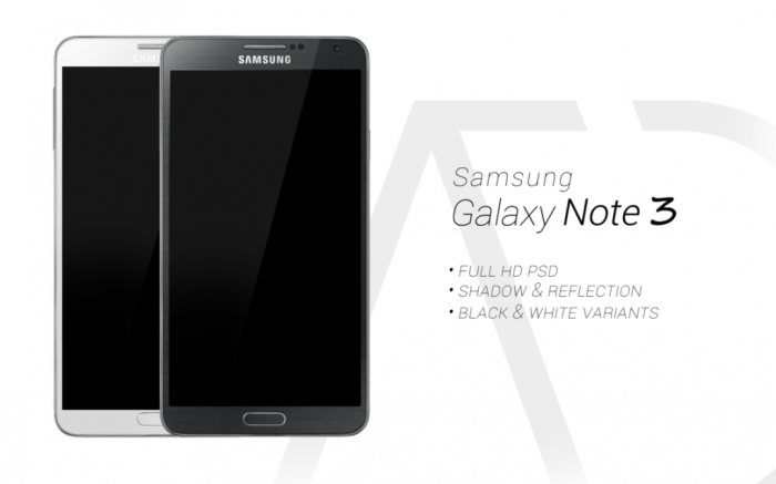 samsung_galaxy_note_3_psd_black_white_by_danishprakash-d6lc905 Samsung Releases Its Samsung Galaxy Note 3 to Be Lighter & Thinner