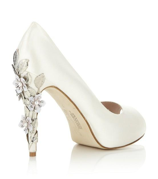shoes A Breathtaking Collection of White Bridal Shoes for Your Wedding Day