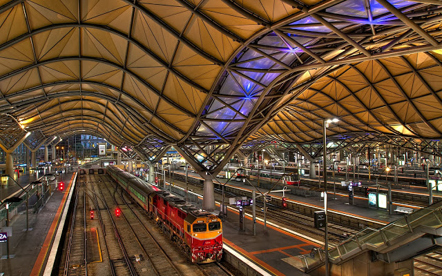 southern-cross-railway-station-melbourne-australia 12 Of The Most Modernist Railway Stations In The World