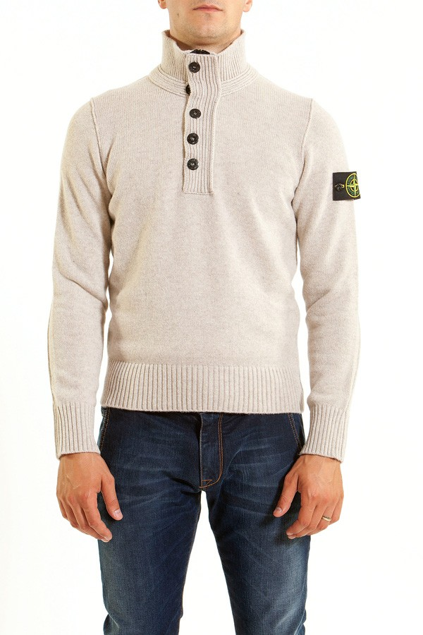 stone-island-f-w-2013-2014-light-beige-jumper-for-men 10 Amazing Xmas Gifts for Your Husband