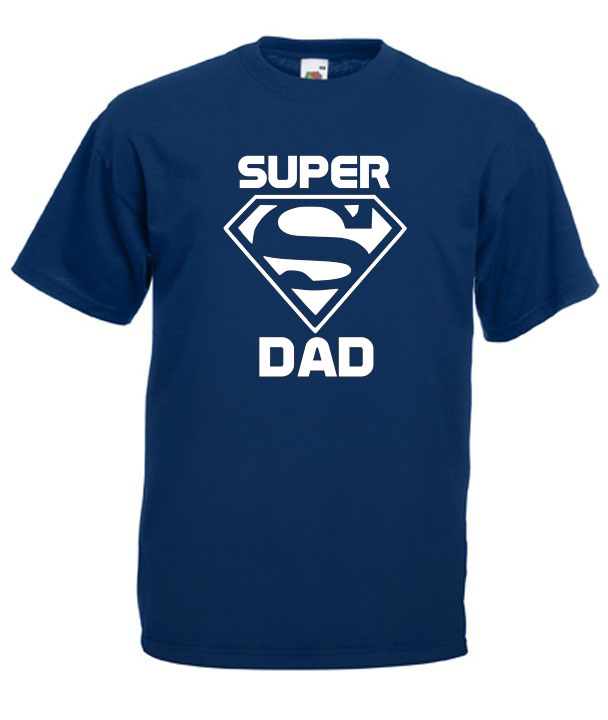 super-dad-navy 50 Unique Gifts for Father's Day