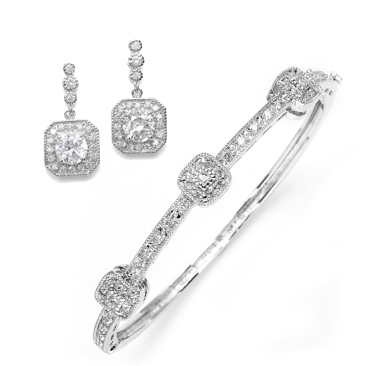 tessa-art-deco-bridal-jewelry-set 48+ Best Christmas Gift Ideas for Your Wife