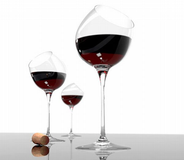 tipsy-wine-glass-2 10 Simple & Cheap Engagement Gifts for Men