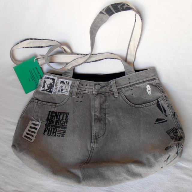 tote-jeans-handmade-bags 10 Stunning & Fascinating Homemade Xmas Gifts