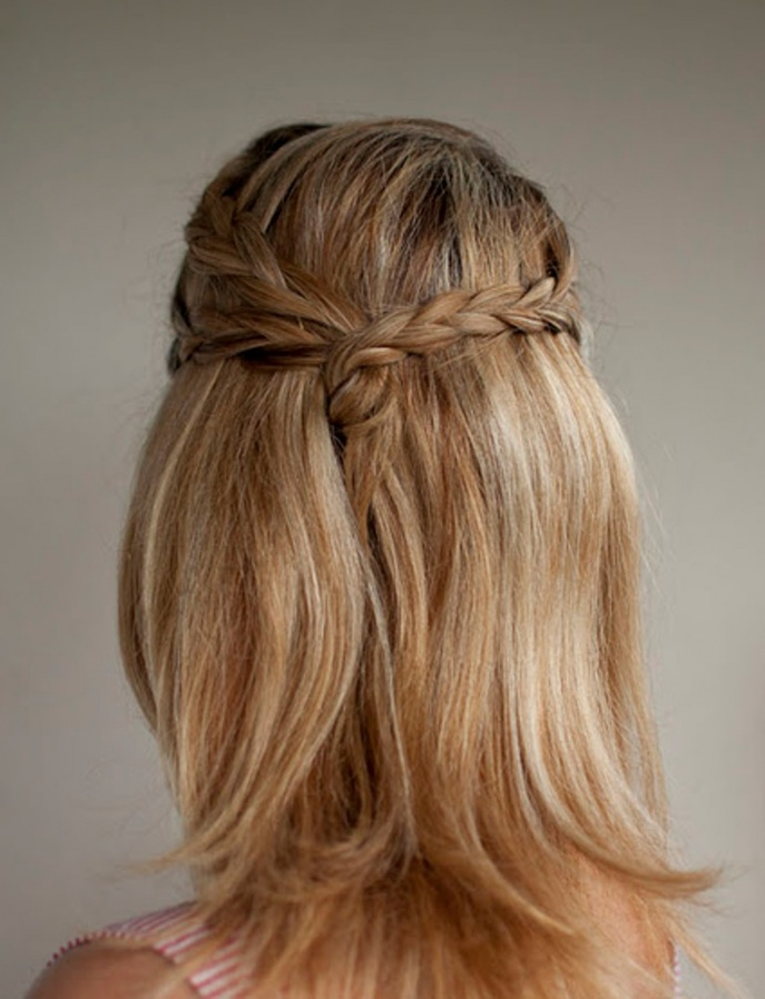triple+plait+half+up+hairstyle+hero+web 50 Dazzling & Fabulous Bridal Hairstyles for Your Wedding