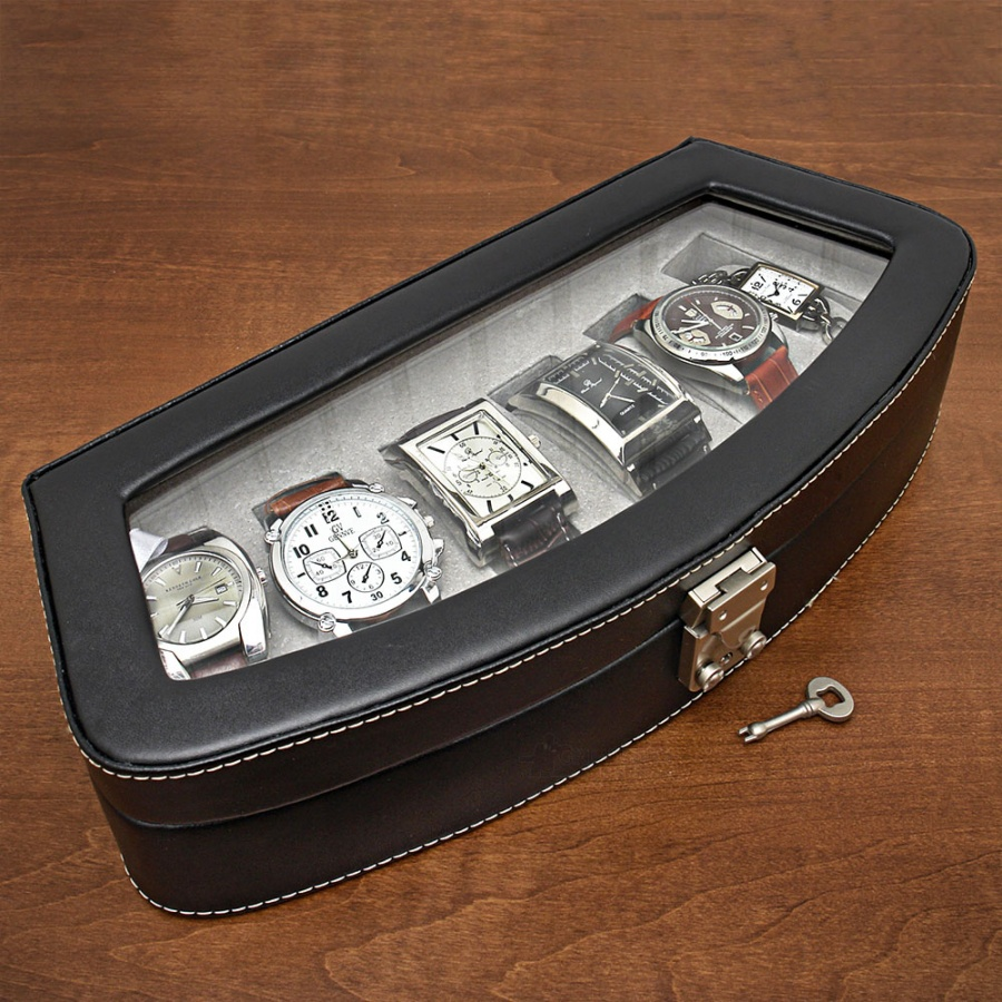 w-leather-watch-caddyblk29000 10 of the Cheapest Personalized Gifts for Men