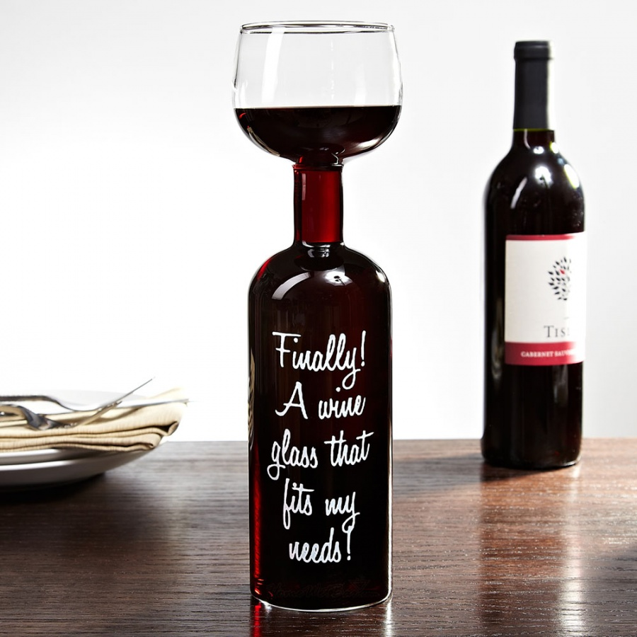 w-wine-bottle-glass23876 35 Weird & Funny Gifts for Women