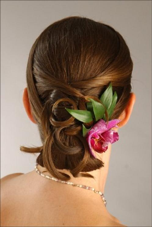 wedding-hairstyle-short-hair2 50 Dazzling & Fabulous Bridal Hairstyles for Your Wedding