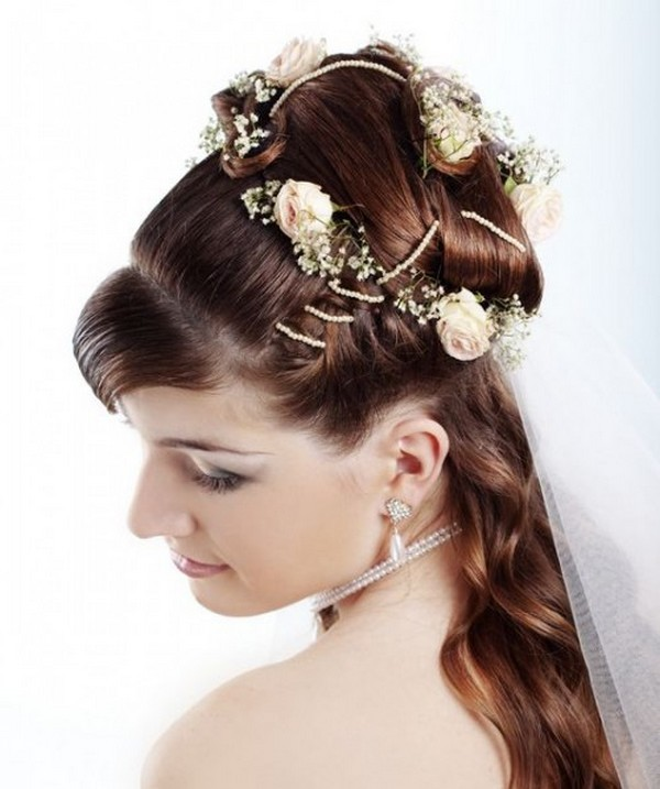 wedding-hairstyles-of-bride 50 Dazzling & Fabulous Bridal Hairstyles for Your Wedding