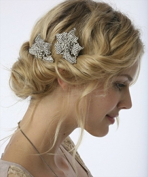 wedding-hairstyles 50 Dazzling & Fabulous Bridal Hairstyles for Your Wedding