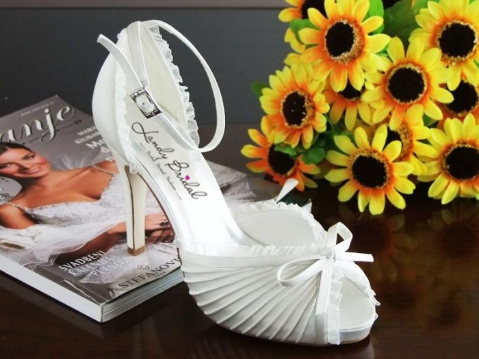 wedding-shoes-wedding-accessories-mid-heel-satin-white-10cm-heel-1.5cm-platform-asld0006-a A Breathtaking Collection of White Bridal Shoes for Your Wedding Day