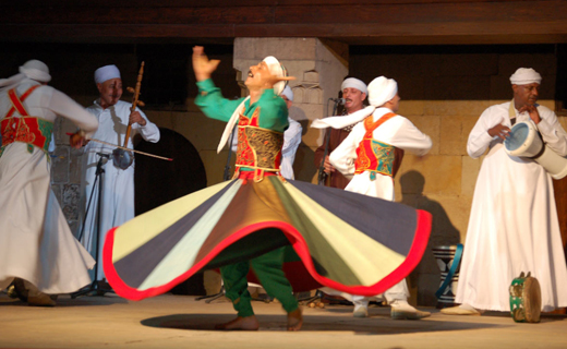 whirling1 Get Inspired While Watching A Live Show Of Tanoura Dance Performance