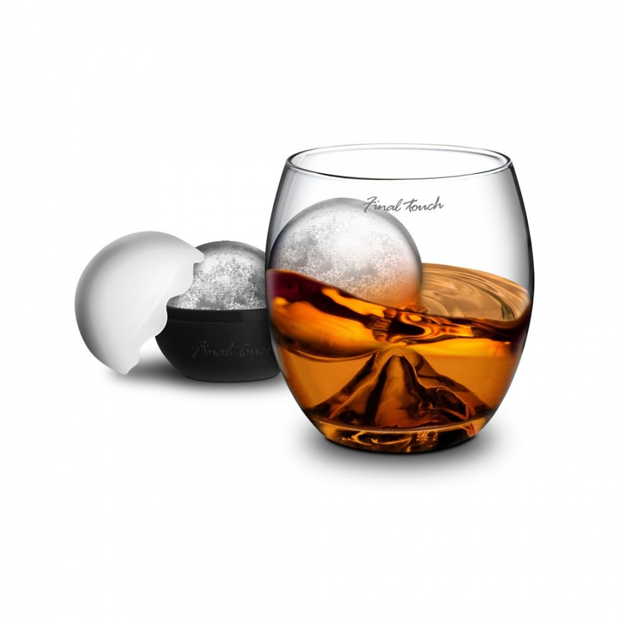 whiskey-glass-with-ice-ball 50 Unique Gifts for Father's Day