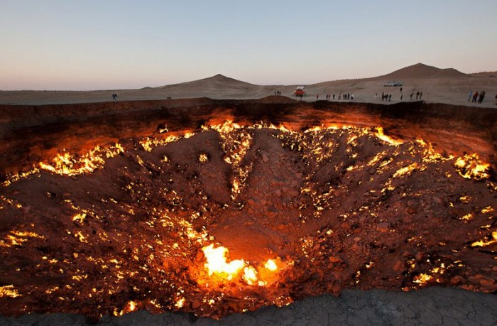 013 The Door to Hell Is Open Now, Have You Ever Seen It?