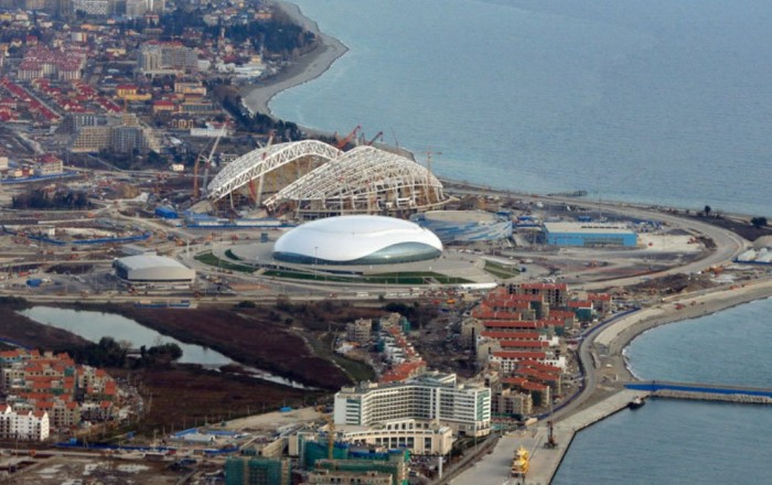 03940115 The Countdown to Sochi 2014 Winter Olympics Has Started