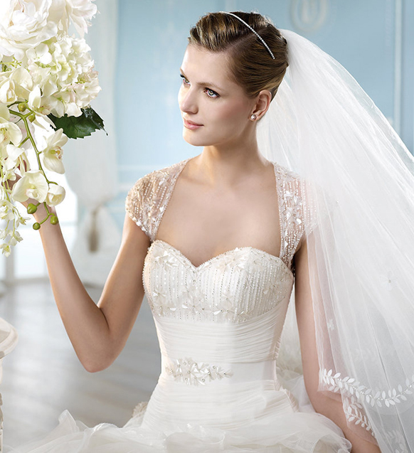 2014-wedding-dresses-by-ST.-Patrick-Bridal-fashion-collection-HANSI_D 47+ Creative Wedding Ideas to Look Gorgeous & Catchy on Your Wedding