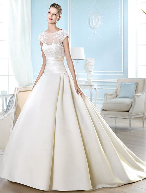 2014-wedding-dresses-by-ST.-Patrick-Bridal-fashion-collection-HARRIET_B 47+ Creative Wedding Ideas to Look Gorgeous & Catchy on Your Wedding