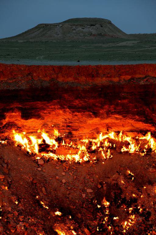 308-F The Door to Hell Is Open Now, Have You Ever Seen It?