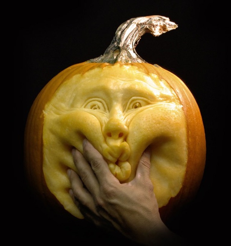 3D-pumpkin-carving-ideas Top 60 Creative Pumpkin Carving Ideas for a Happy Halloween