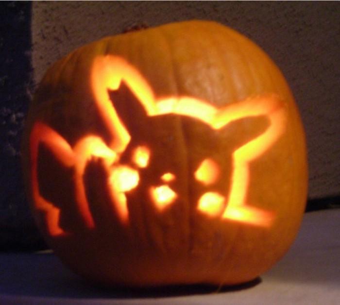 Accessories-Pikachu-Pumpkin-Carving-Patterns-25-Pumpkin-Carving-Patterns-Character-Ideas Top 60 Creative Pumpkin Carving Ideas for a Happy Halloween