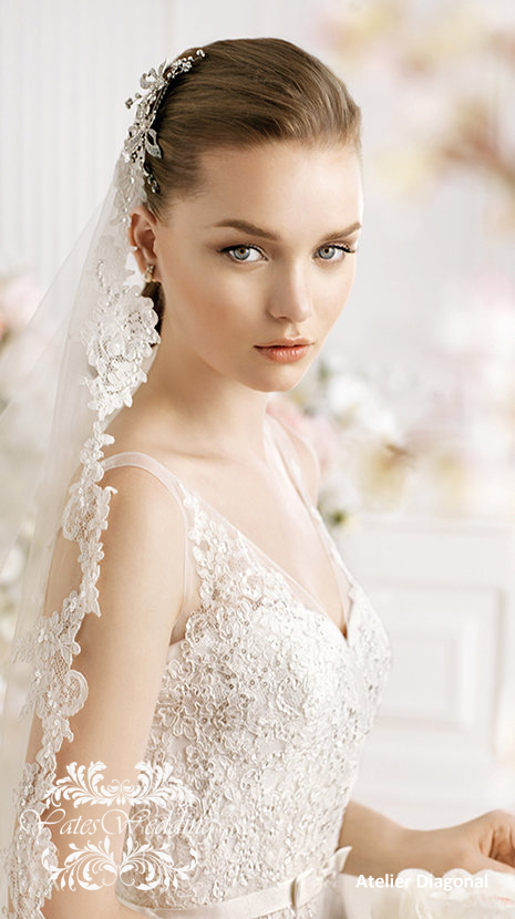 Atelier-Diagonal-2014-Spring-Bridal. 47+ Creative Wedding Ideas to Look Gorgeous & Catchy on Your Wedding