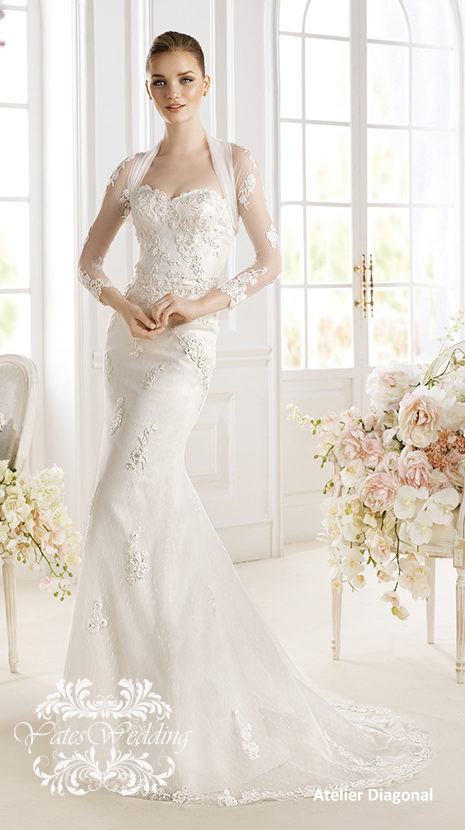 Atelier-Diagonal-2014-Spring-Bridal 47+ Creative Wedding Ideas to Look Gorgeous & Catchy on Your Wedding