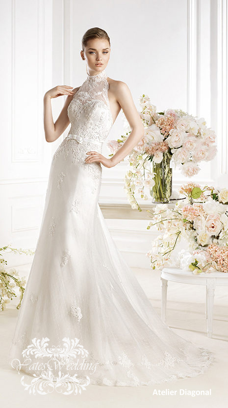 Atelier-Diagonal-2014-Spring-Bridal1 47+ Creative Wedding Ideas to Look Gorgeous & Catchy on Your Wedding