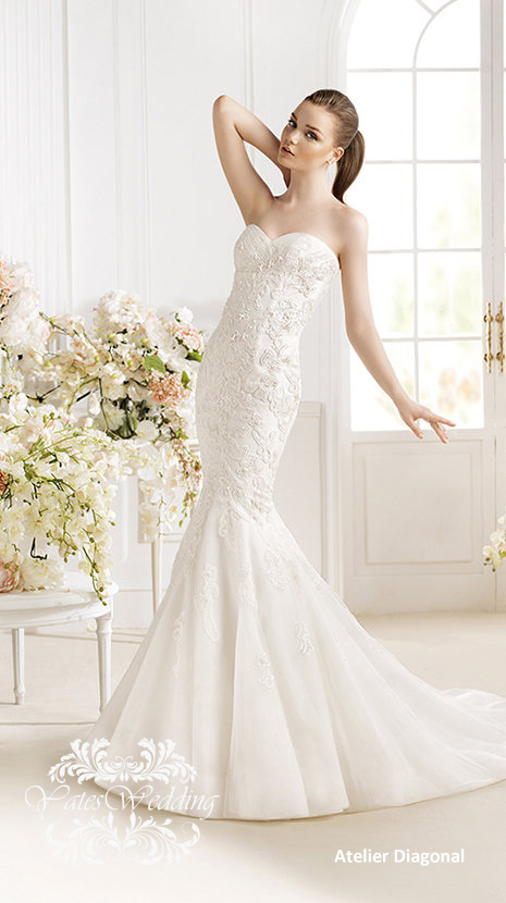 Atelier-Diagonal-2014-Spring-Bridal2 47+ Creative Wedding Ideas to Look Gorgeous & Catchy on Your Wedding