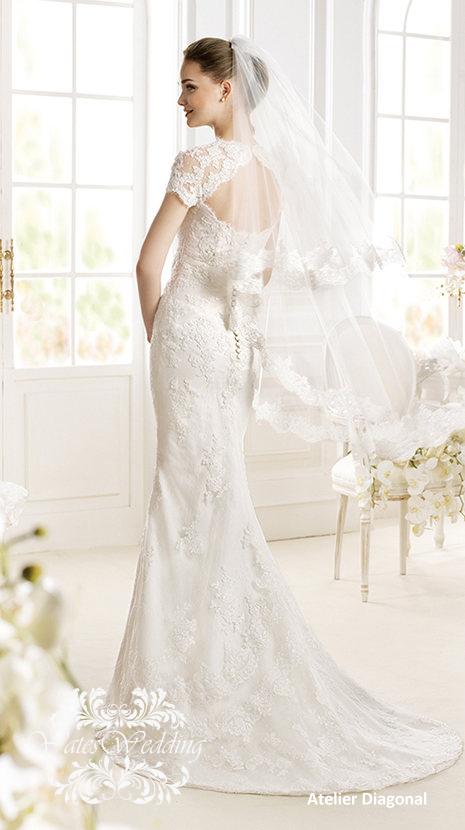 Atelier-Diagonal-2014-Spring-Bridal3 47+ Creative Wedding Ideas to Look Gorgeous & Catchy on Your Wedding