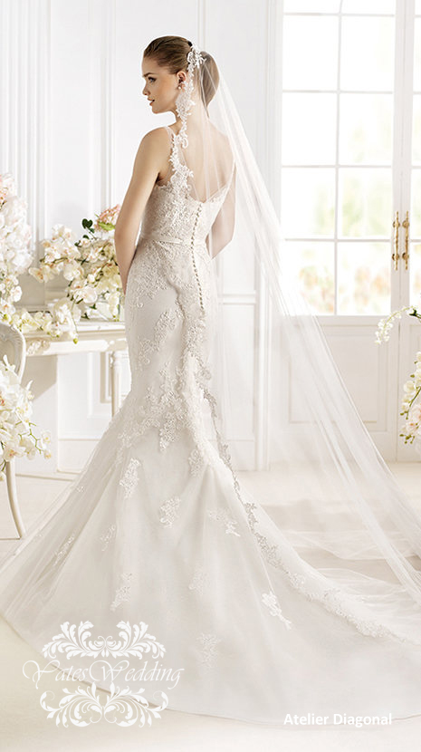 Atelier-Diagonal-2014-Spring-Bridal4 47+ Creative Wedding Ideas to Look Gorgeous & Catchy on Your Wedding
