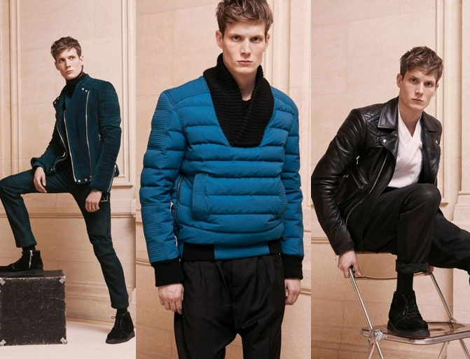 Balmain_Homme_fall_2013_2014_mens_collection_4_h 75+ Most Fashionable Men's Winter Fashion Trends for 2019