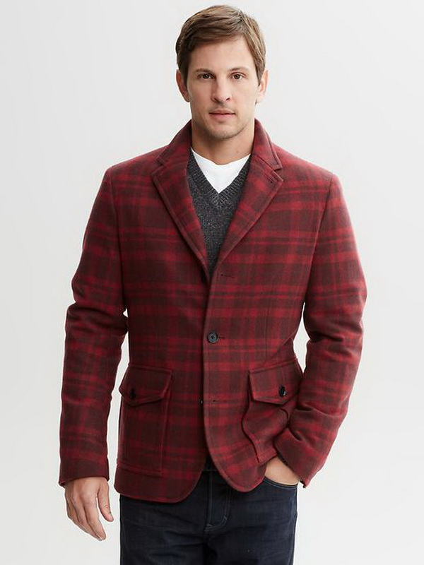 Banana-Republic-Winter-2013-Perfect-Plaids-Collection-for-Men_21 75+ Most Fashionable Men's Winter Fashion Trends Expected for 2021