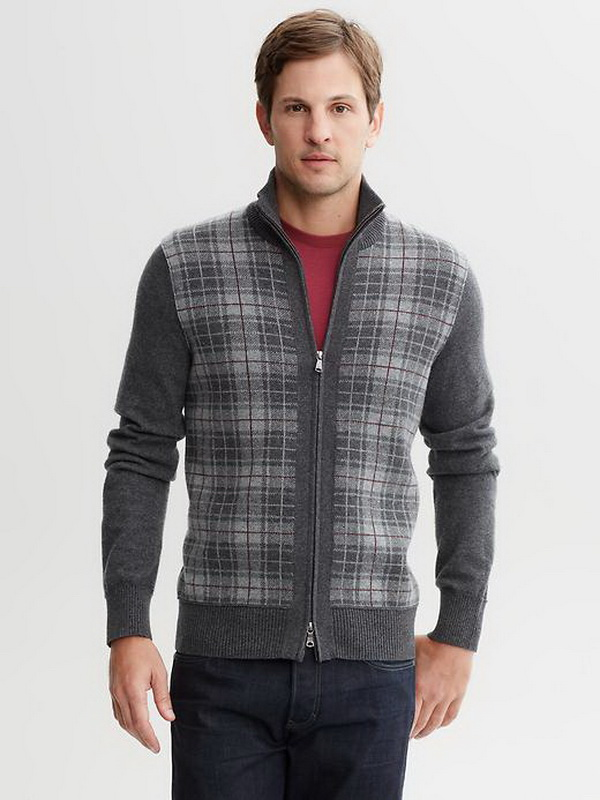 Banana-Republic-Winter-2013-Perfect-Plaids-Collection-for-Men_25 75+ Most Fashionable Men's Winter Fashion Trends Expected for 2021