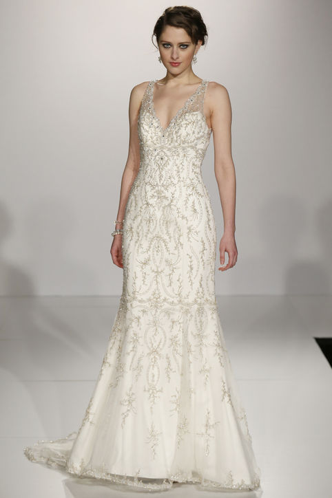 Best-Wedding-Dresses-From-Bridal-Market-Spring-20141 47+ Creative Wedding Ideas to Look Gorgeous & Catchy on Your Wedding