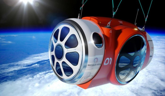 Capsule-space_311012 Space Tourism Starts Soon at Affordable Prices through Balloon Trips