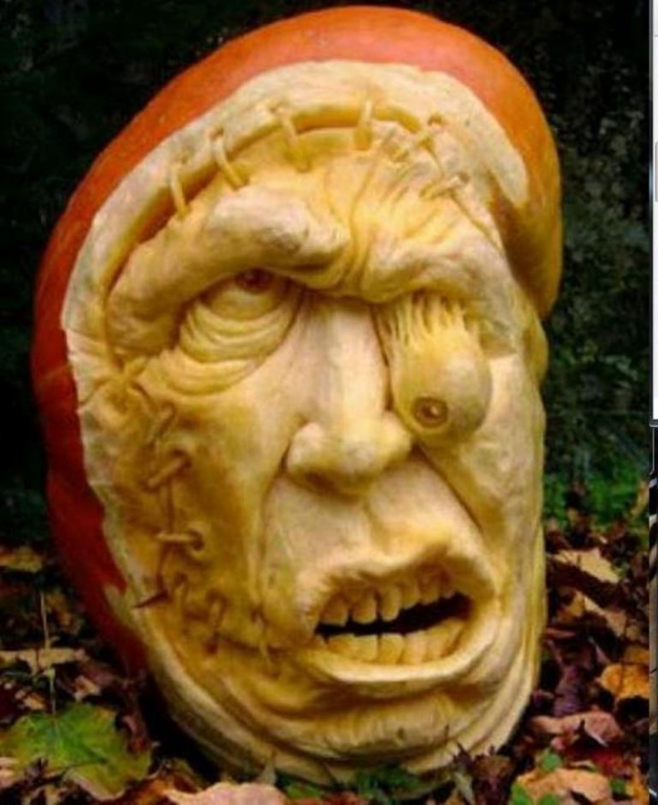 Clever-pumpkin-carving-patterns Top 60 Creative Pumpkin Carving Ideas for a Happy Halloween