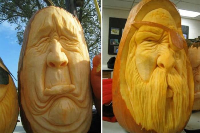 Cool-Halloween-Pumpkin-Carving-Ideas-Design Top 60 Creative Pumpkin Carving Ideas for a Happy Halloween