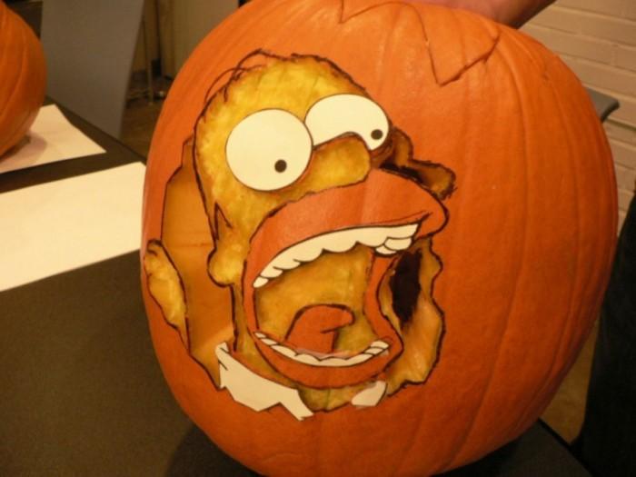Crazy-Pumpkin-Carvings-for-Happy-Halloween-Week-Halloween-Pumpkin-Simpson-Carving-Ideas Top 60 Creative Pumpkin Carving Ideas for a Happy Halloween