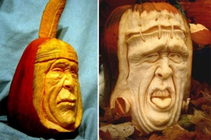 Creative-Halloween-Pumpkin-Carving Top 60 Creative Pumpkin Carving Ideas for a Happy Halloween