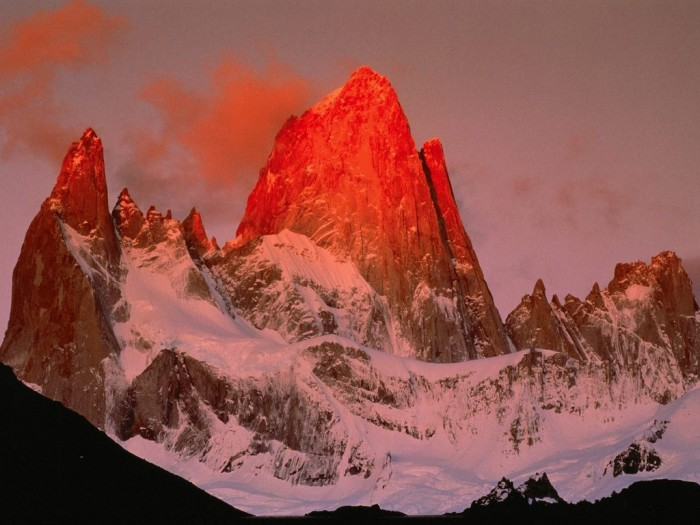 Crimson-Light-In-Patagonia-Argentina Adventure Travel Destinations to Enjoy an Unforgettable Holiday