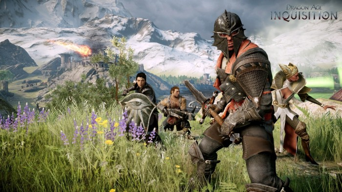 DAI-Inquisitor-and-Followers Top 15 PS4 Games for Unprecedented Gaming Experience