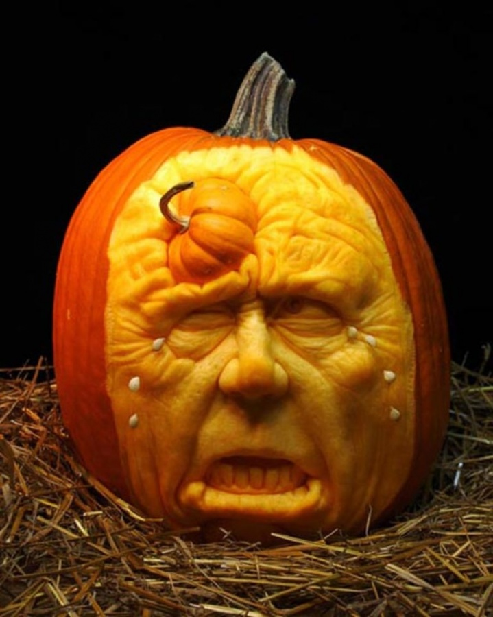 DSC_03401 Top 60 Creative Pumpkin Carving Ideas for a Happy Halloween