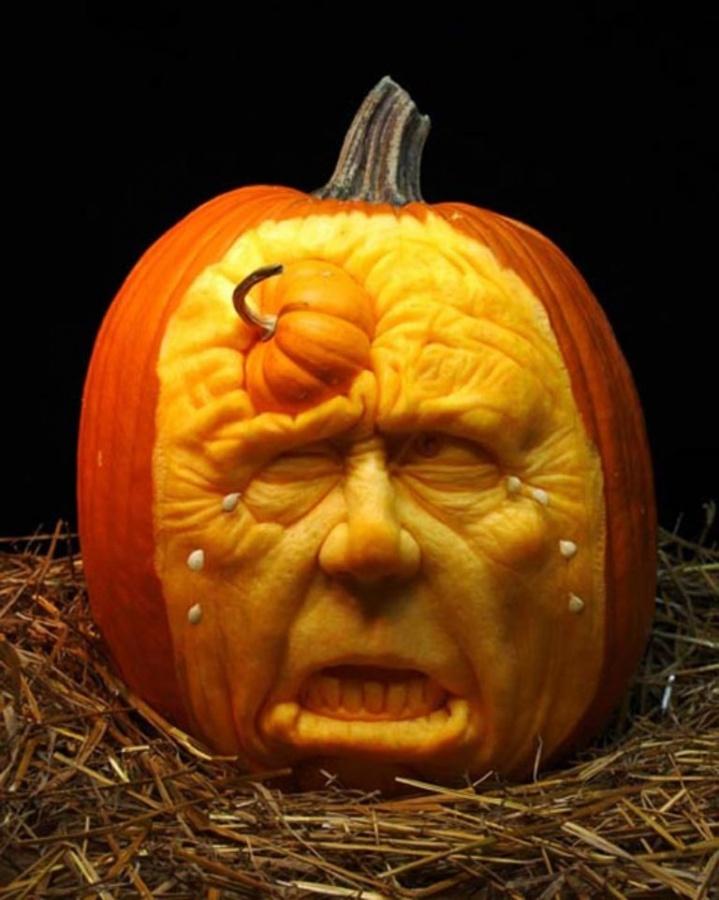 DSC_03401 Top 60 Creative Pumpkin Carving Ideas for a Happy Halloween