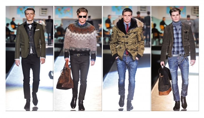 Dsquared-Fall-winter-2012-Men-fashion 75+ Most Fashionable Men's Winter Fashion Trends for 2019