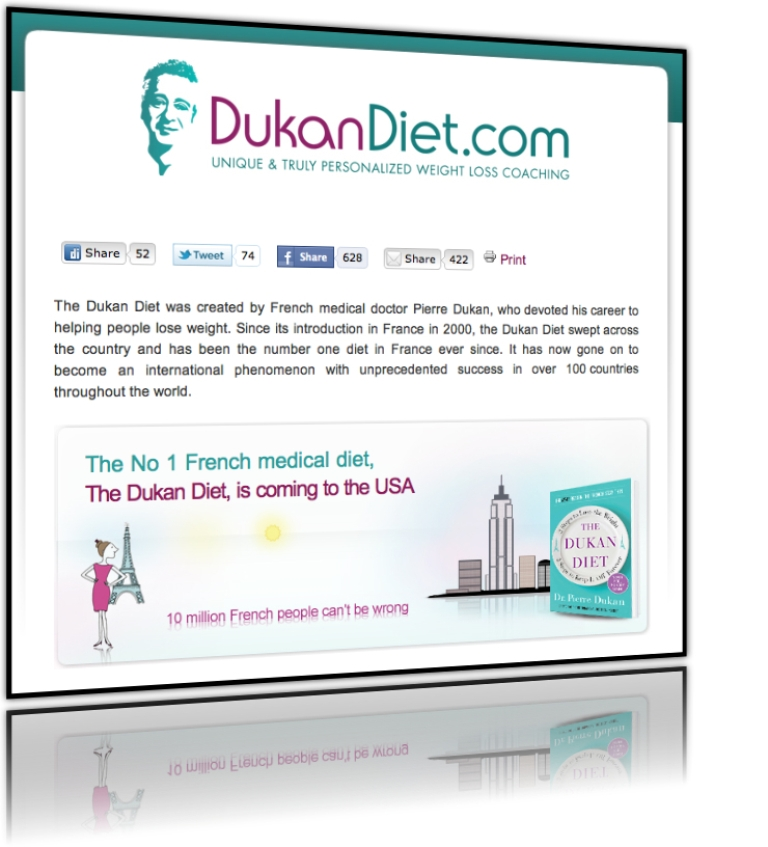 "DukanDiet-USA Put an End for Being Overweight Forever with ""Dukan Diet"""