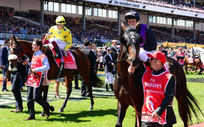 Dunaden_and_Fiorente_2013_Melbourne_Cup Melbourne Cup Is a Rich & Prestigious Horse Race that Stops a Nation