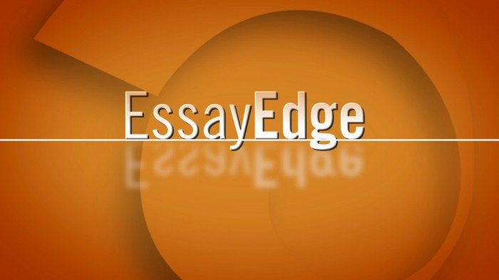 EE-snap EssayEdge Helps You to Write the Best Admissions and Academic Essays