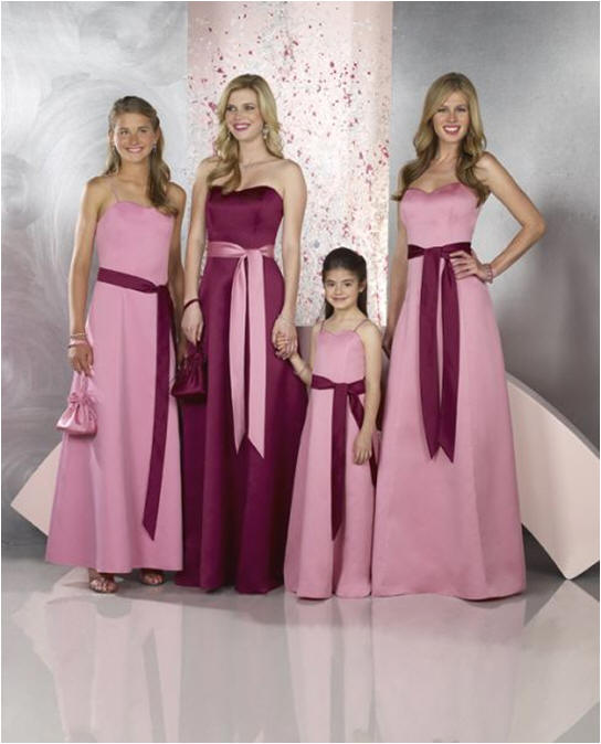 Elegant-design-trends-bridesmaids-dresses-2014 47+ Creative Wedding Ideas to Look Gorgeous & Catchy on Your Wedding